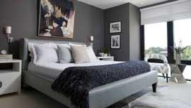 آموزش مدلسازی اتاق خواب خاکستری
